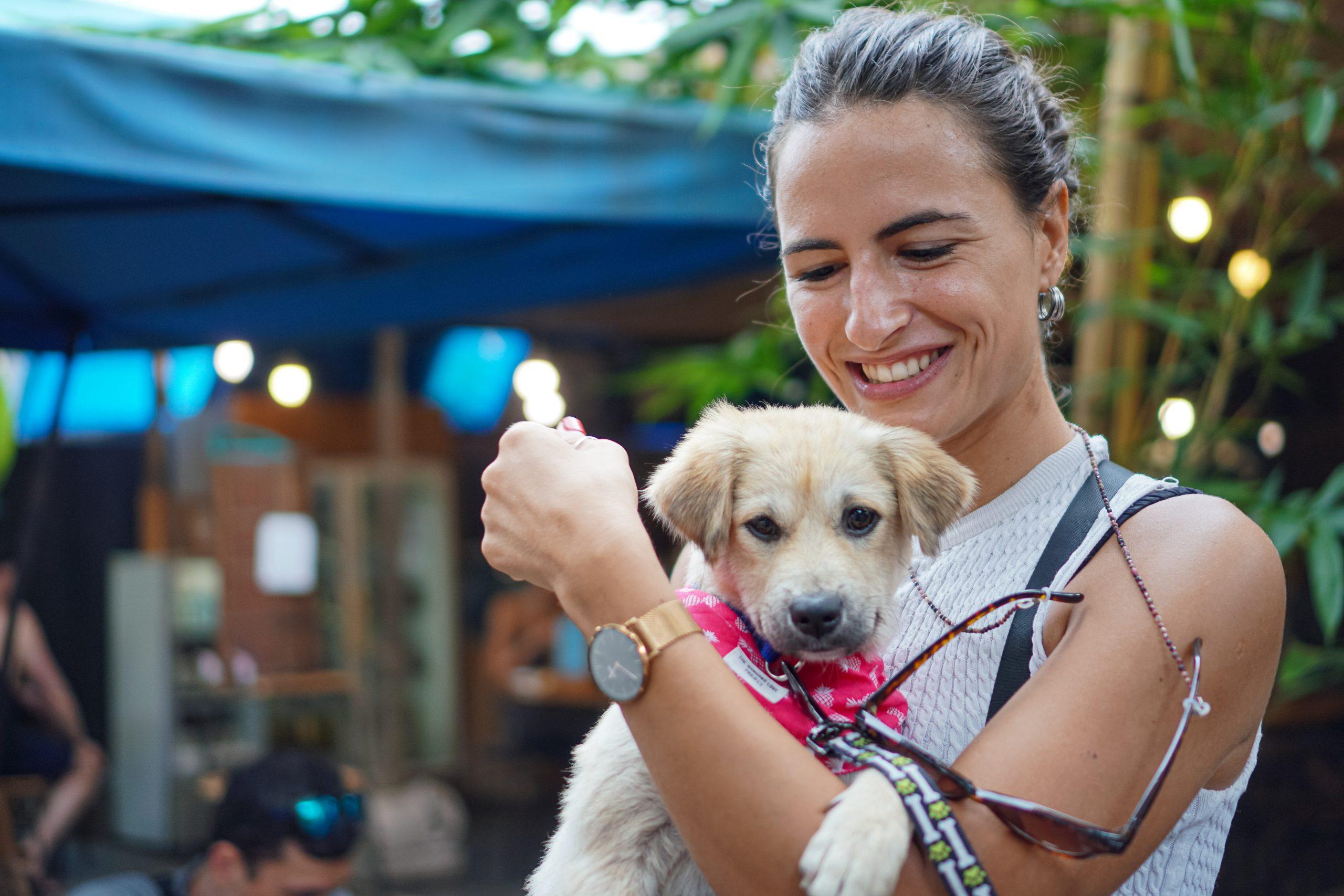 Hope for Bali dogs Samadi market