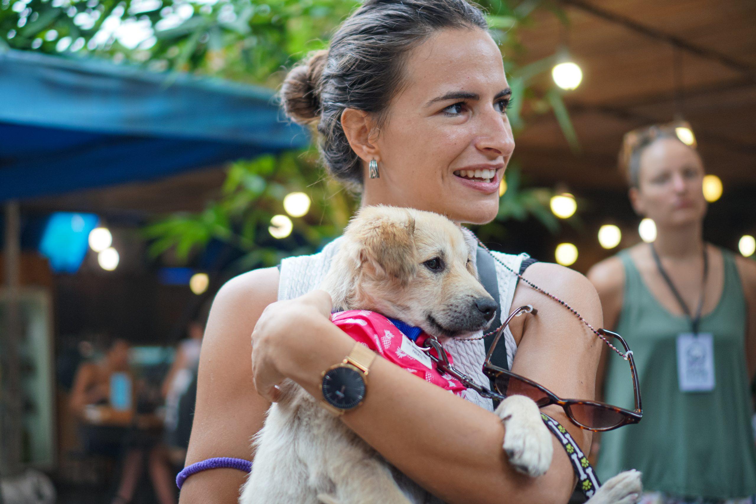 Hope for Bali dogs Samadi market dog